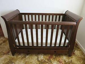 Boori Sleigh King Parrot Baby/Toddler 3 in 1 Cot Excellent Cond. Bellevue Heights Mitcham Area Preview
