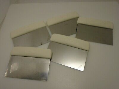 Dexter Usa Lot Of 5 Dough Knives Pizza Shop Cutters Heavy Duty S196 Factory2nd