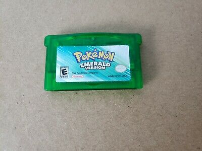Authentic Pokemon Emerald Version - Free Shipping