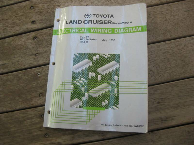 toyota landcruiser electrical wiring diagram manual other parts Kia Sedona Electrical Diagram Electrical Wiring Diagram Toyota Land Cruiser #21