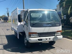 2002 Isuzu NPR 300 Tray with Gates Campbellfield Hume Area Preview