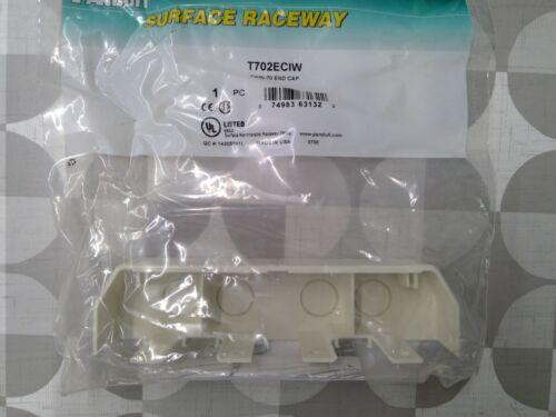 Panduit T702ECIW Twin 70 End Cap **Free Shipping**