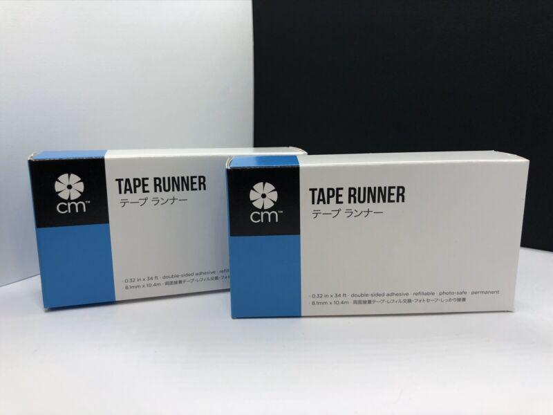 Creative Memories 2 Tape Runners Brand New