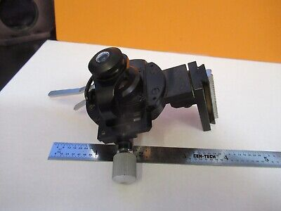 Leitz Germany Pol Condenser Iris Assembly Microscope Part Optics As Pic 85-b-22