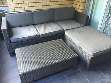 Outdoor 3 Seater Lounge suite with Chaise Caringbah Sutherland Area Preview