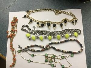 Various Necklace, $5 EACH  Aldo, Cara, Celebrity NY and others