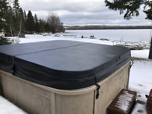 Hot Tub Cover brand new in factory box black in colour