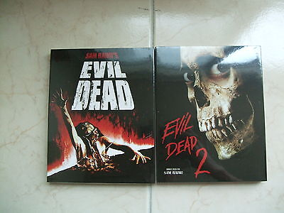 The Evil Dead 1 & 2 (2015, Blu-ray) Slip Case Edition / I & II