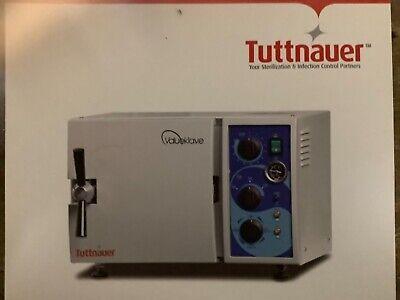 Tuttnauer Autoclave Sterilizer Mod 173023402540 Repair Service Request