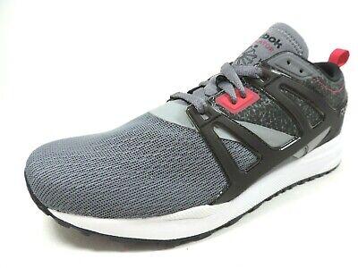 Reebok Mens Shoes Ventilator Sneakers Running Mesh M49786 Gray Black Rare DS