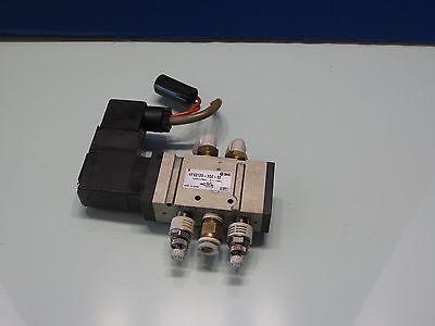 Matsuura Mc-510v Cnc Vertical Mill Tool Changer Arm Smc Valve Vfs2120-3dz-02