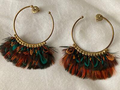 Gas Bijoux Feather Earrings