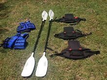 Triyak Feelfree 3 person Kayak and lifejackets Inverell Inverell Area Preview