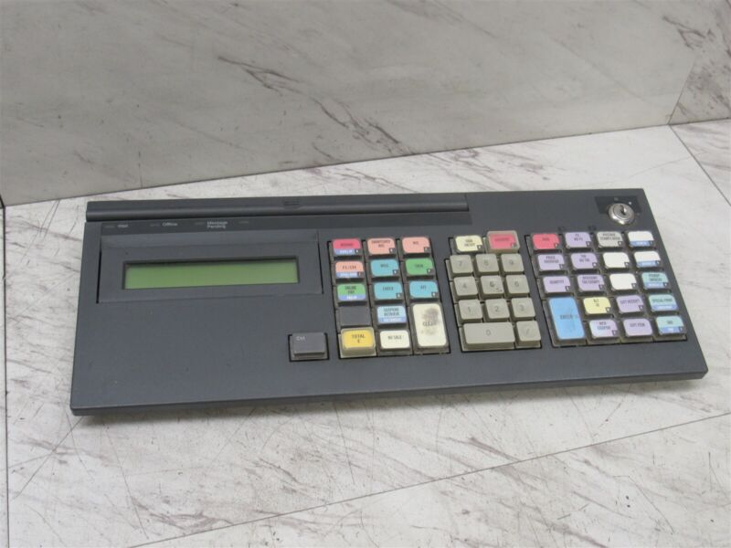 IBM M8 POS Keyboard & Display 65Y4677 65Y4681 Black