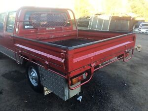 Steel drop side tray back suit dual cab ute