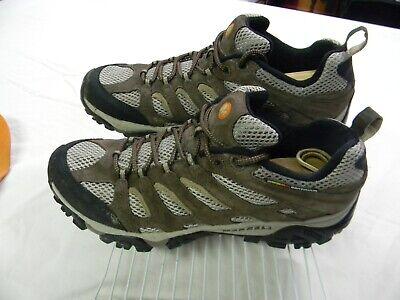 Merrell Moab Ventilator Vibram Hiking Shoes Walnut Brown Mens Size 13 - Mens Moab Ventilator Hiking Shoe
