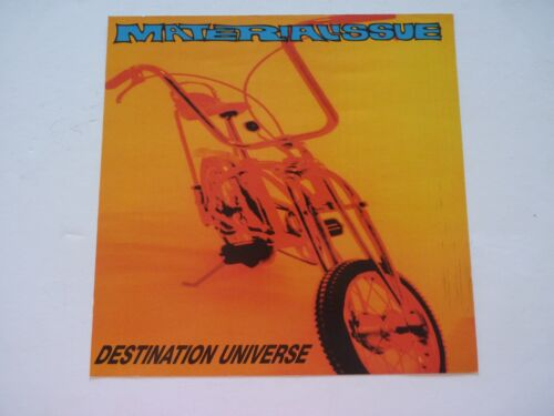 Material Issue Destination Universe LP Record Photo Flat 12x12 Poster