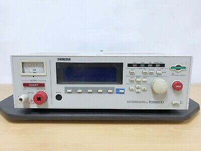 Kikusui Tos9200 Ac Withstanding Voltage Insulation Resistance Tester