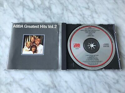 ABBA Greatest Hits Vol. 2 CD Atlantic EARLY PRESS 16009-2 Dancing Queen RARE!