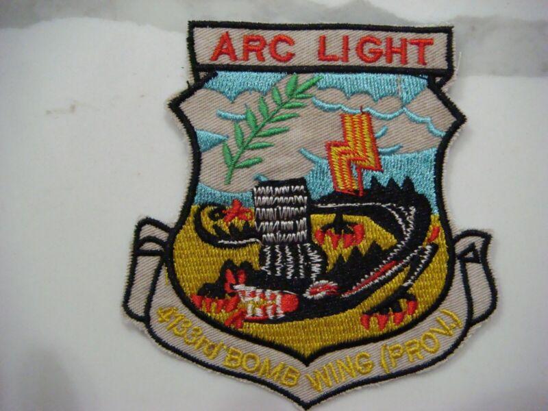 US 4133rd BOMB WING ARC LIGHT, VIETNAM WAR PATCH