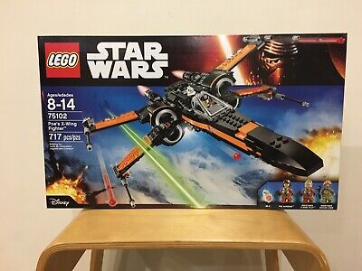 LEGO Star Wars 75102 Poe's X-Wing Fighter NISB Retired FACTORY SEALED BOX