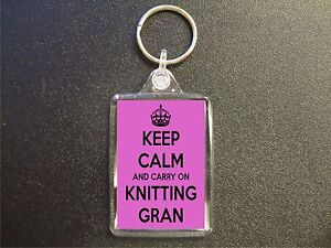 KEEP-CALM-AND-CARRY-ON-KNITTING-GRAN-KEYRING-GIFT-BAG-TAG-BIRTHDAY-GIFT