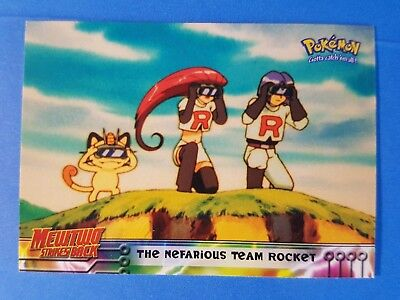 assorted Pokemon Movie Animation Topps trading cards (choose from list)