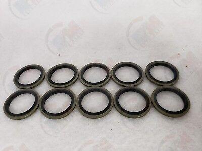 Oil Drain Plug Metal Rubber Seal (10 Pack) MR41 for Mazda 3 Sport Miata CX-5 RX8