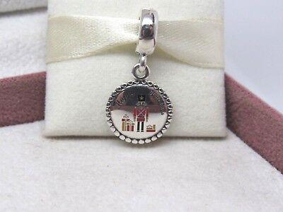 New w/Box Pandora Nutcracker Christmas Dangle Charm ENG791169_93 US EXCLUSIVE