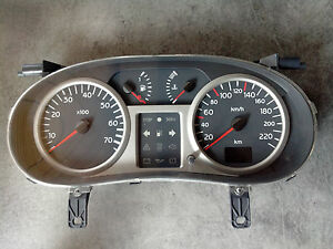 compteur kilometrique 1 2 16v renault clio 2 phase ii 2 8200261102 112795 km ebay. Black Bedroom Furniture Sets. Home Design Ideas