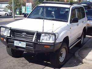 2002 Toyota Land Cruiser Wagon 4X4 Diesel, Manual Brunswick East Moreland Area Preview