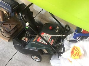 Snow Blower (single stage) for sale