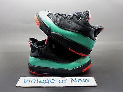 Girls Nike Air Jordan Dub-Zero Black Infrared 23 Verde Green GT 2015 sz (Jordan Dub Zero Black Infrared 23 Verde)
