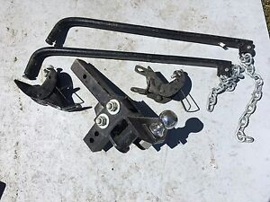 Trailer stabilizers sway bars
