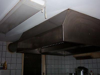 Abzugssystem Deckenhaube Edelstahl Gastro Dunstabzugshaube Kochinsel Abzugsrohre