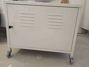 Ikea Metal Cabinets on Rollers x 2 Croydon Park Canterbury Area Preview