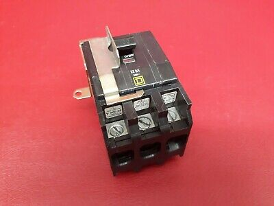 100 Amp Square D Type Qo 3 Pole Qo3100vh Circuit Breaker W Plug-on Jaw