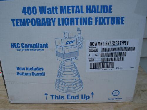 CCI Luma-Site Hanging Temporary Job Site Work Light 400-watt Metal Halide MH HID