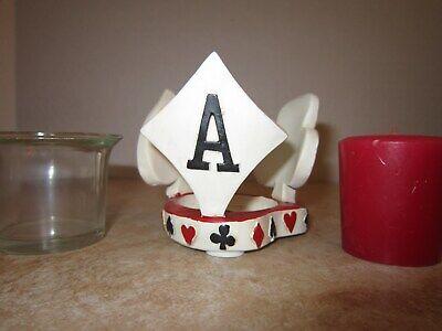 """Aces"" Candleholder"