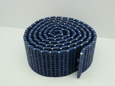 Intralox Plastic Modular Mattop Conveyor Belt Chain Blue Open Grid 4.5 X 10ft