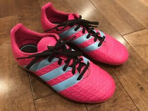Like NEW Adidas girls soccer cleats, size 3