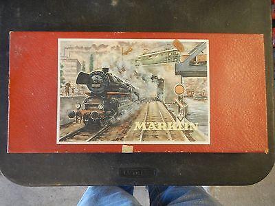 Vintage Marklin 3101 train set