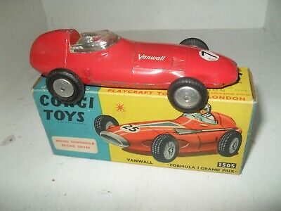 Corgi 150S Vanwall F1 Grand Prix Empty Repro Box
