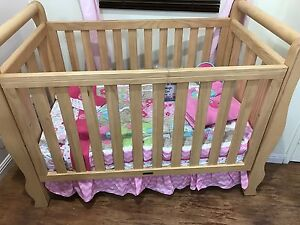 Love N Care Baby Cot (Solid Timber ) Nearly New!!! Punchbowl Canterbury Area Preview