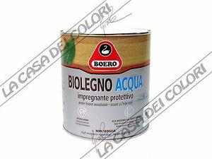 Boero biolegno acqua new 0 750 lt colori linea legno for Boero colori