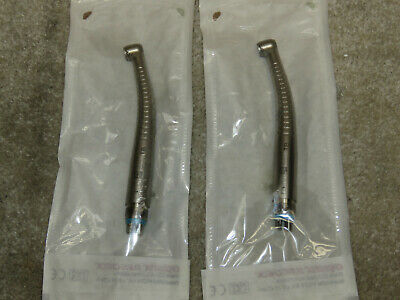 Lot Of 2 Midwest Tradition Tb Push Button Fixed Backend Dental Handpieces