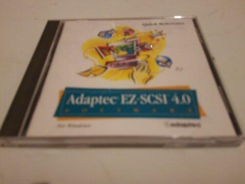 Adaptec EZ-SCSI 4.0 Software  Windows Quick Reference