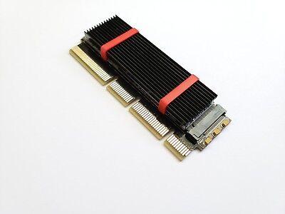 M.2 PCIE NVME 2280 SSD TO PCI EXPRESS 3.0 X4 X8 X16 Adapter M Key Interface Card