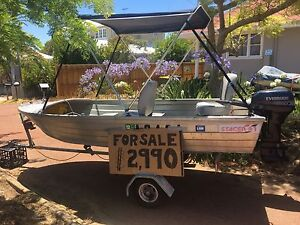 Awesome car topper and bulldog fold up trailer Bicton Melville Area Preview