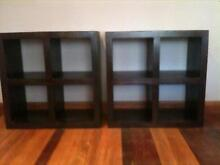 Cube shelves solid wood from Freedom Furniture . Kurrajong Hawkesbury Area Preview